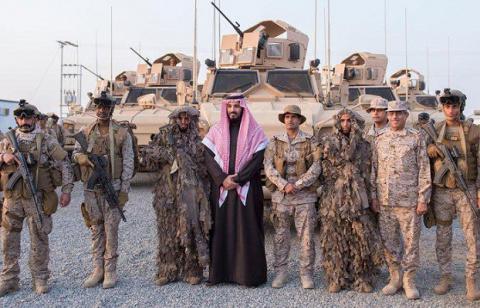 Саудовский наследный принц з…