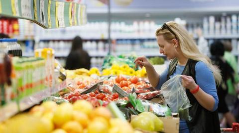 Овощи и фрукты в России в се…