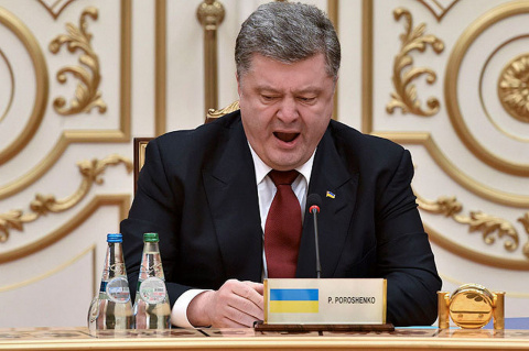 Россия остается единственной темой в попытках Киева достучаться до Запада