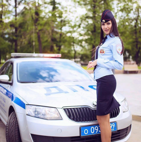 Русские красавицы в погонах