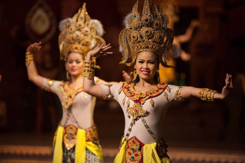 Народные танцы Таиланда (часть 2)