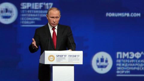 В. Путин призвал заняться восстановлением экономик ДНР и ЛНР