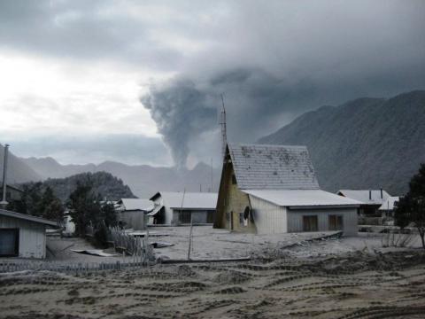 Чайтен — город, погребенный вулканом