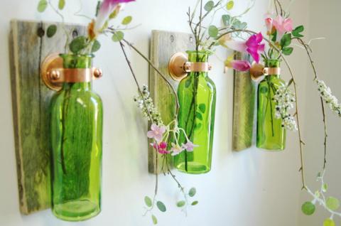 Идеи поделок из бутылок