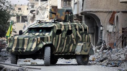 Восвобождённой Ракке сопрот…