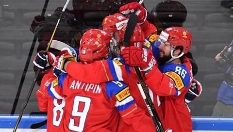 Сборная России обыграла чехов и вышла в полуфинал чемпионата мира по хоккею