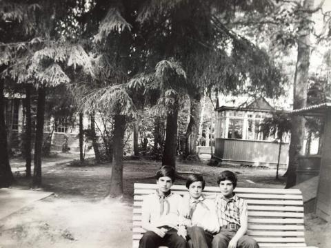 ~1979 Братья Шувановы и Игорь Громов.