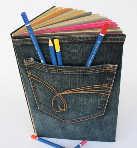 МАСТЕРИЛКА. Разрежь старые джинсы...