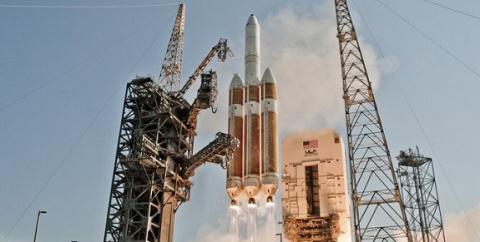 Ракета американской компании ULA вывела наорбиту военный спутник связи