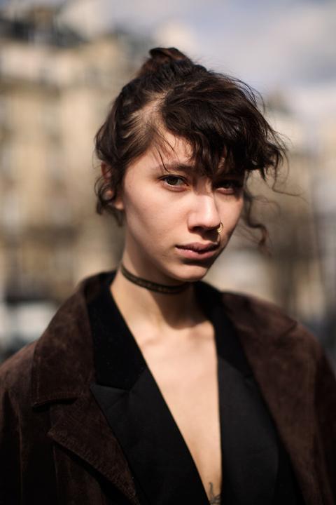 On the Street…Haunting Gaze, Paris