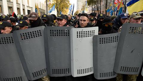 Протесты и митинги в Киеве: новый Майдан, - протестующие разбили палаточный лагерь