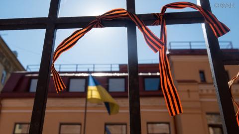 Георгиевская ленточка под запретом превратится в удавку для Порошенко