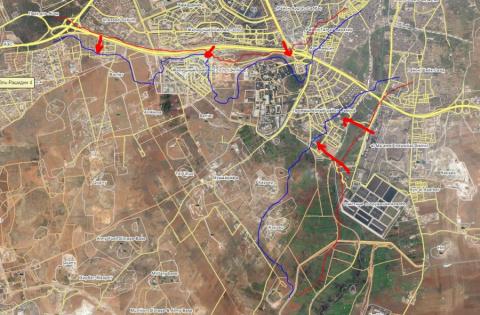Военная обстановка под Алеппо. 11.08.2016