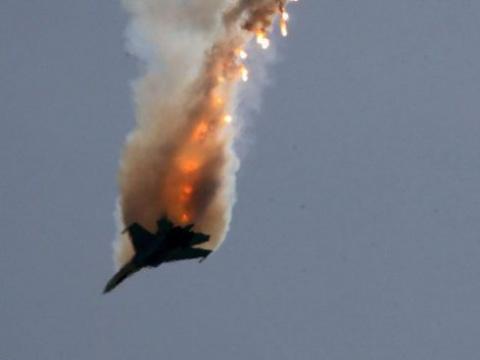 Боевики сбили самолет сирийских ВВС