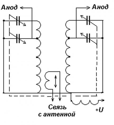 схема П-контура.