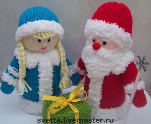 Дед мороз вязать своими руками