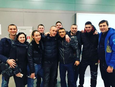Ломаченко вернулся в Украину…