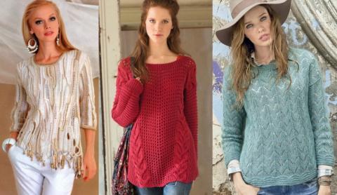 Модные женские джемперы: 3 мастер-класса. Мужской джемпер - МК