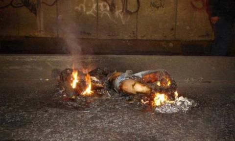 Феномен самовозгорания человека