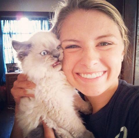 19 селфи с кошками-злюками, …
