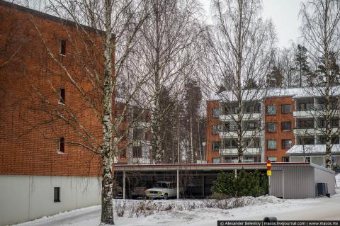 Главное отличие финских подъездов