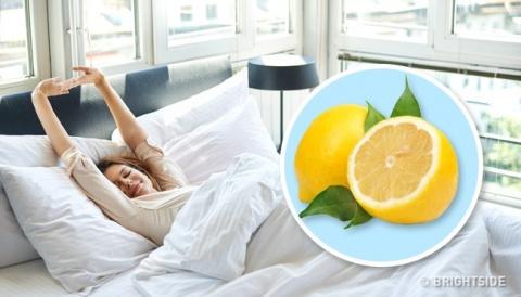 Вот что произойдет, если вы поместите кусочек лимона рядом со своей кроватью