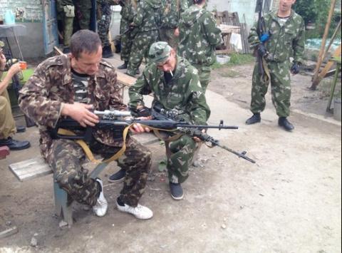 Снайпер ДНР «изрешетил» ВСУшника