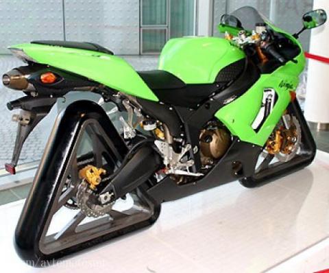 """Из серии """"Необычные мотоциклы""""....."""