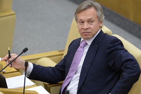 Пушков прокомментировал заявление Порошенко о поддержке Украины при Трампе