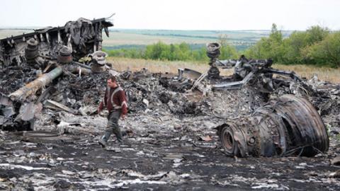 Свидетель уничтожения МН17, …