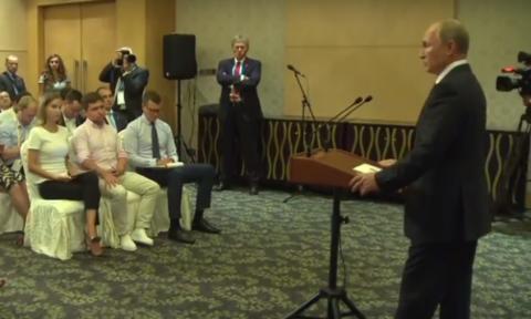 Путин в ответ на вопрос о разочаровании в Трампе: он же мне не невеста