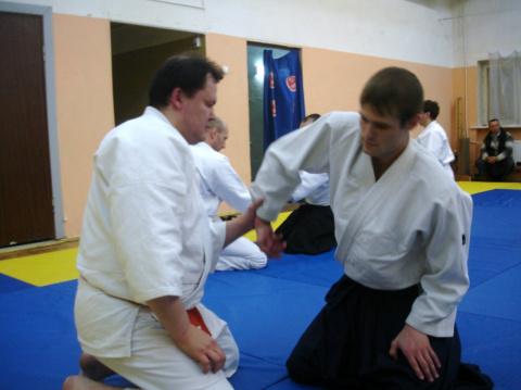 Семинар по базовой технике Айкидо 18-20 марта 2011