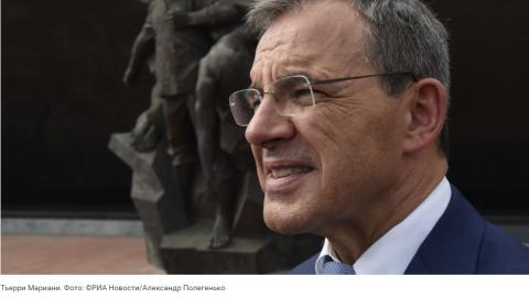 Глава французской делегации в Крыму не принял вопрос украинского журналиста