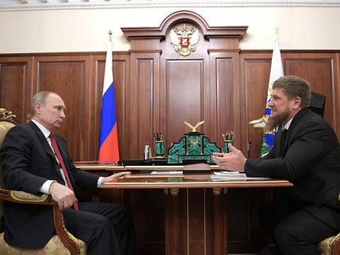 Кадыров пожаловался Путину н…