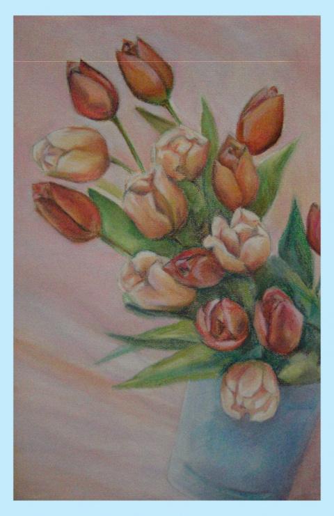 Тюльпаны.Алла Грицкевич