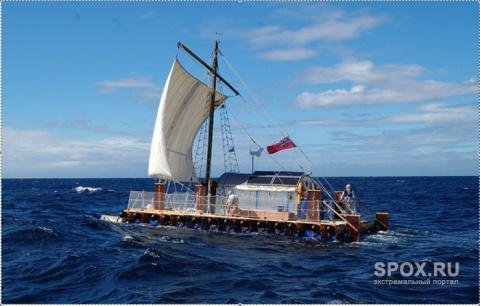 Старики-морские разбойники : через Атлантику на плоту из водопроводных труб