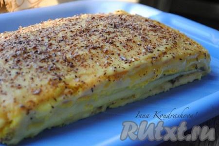 рецепт бисквитного торта со сметанным кремом пошаговый рецепт с фото