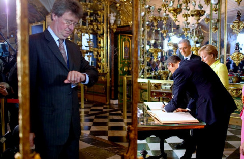 Президенту США город Дрезден тоже понравился.