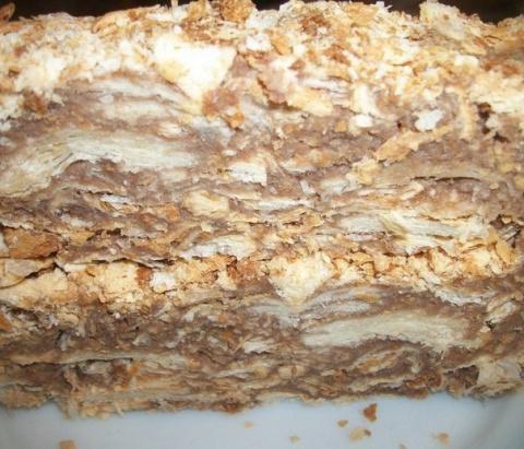 Оригинальный торт «Наполеон»…