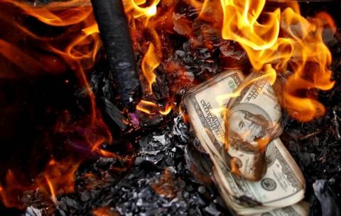 Как ФРС планирует сжечь США …