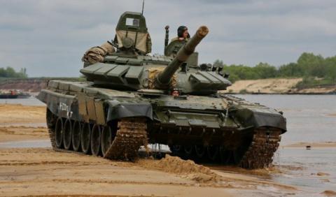 На «Танковый биатлон-2018» от Сербии поедут российские танки Т-72Б3