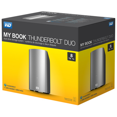 WD My Book Thunderbolt Duo —…
