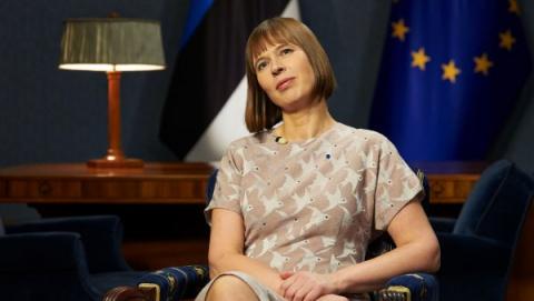 Президент Эстонии Керсти Кальюлайд: «Я не считаю Россию враждебной»