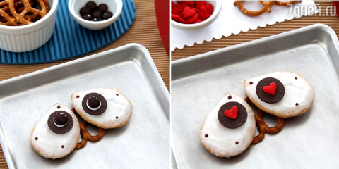 Песочное печенье с глазурью:…