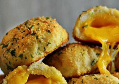 Сырные бомбочки - аппетитное блюдо за 20 минут! Курочка на японский лад с соевым соусом и медом