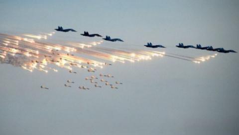 Российская авиация уничтожае…
