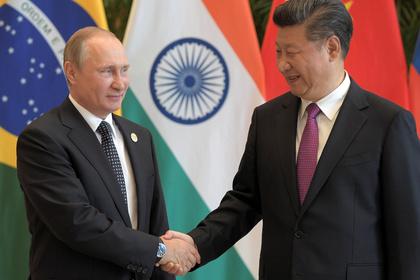 Китайский лидер предложил Путину объединиться для защиты суверенитета