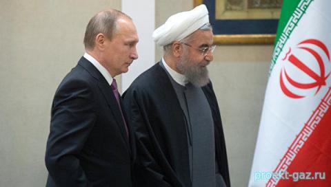 На встрече Путина и Роухани …