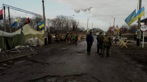 Блокада Донбасса: ветераны «АТО» свернули один редут под ЛНР