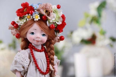 Куколки в венках. Автор - Оксана Сальникова